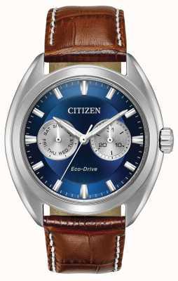Citizen Mens eco-drive discagem azul paradex BU4010-05L