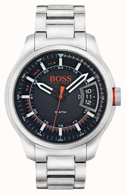 Hugo Boss Orange Mens de aço inoxidável de Hong Kong 1550004