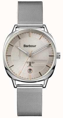Barbour Malha de prata mitford da mulher BB062SL