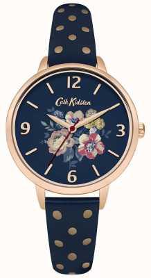 Cath Kidston As polainas florais da marinha da mulher CKL004URG