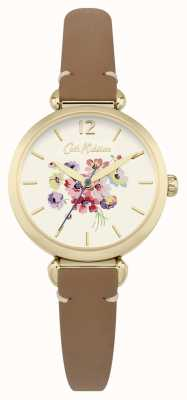 Cath Kidston Mostrador floral da mulher marrom CKL015TG