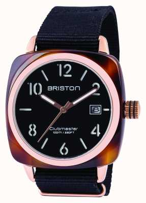 Briston Mens clubmaster classic acetato black 13240.PRA.T.1.NB