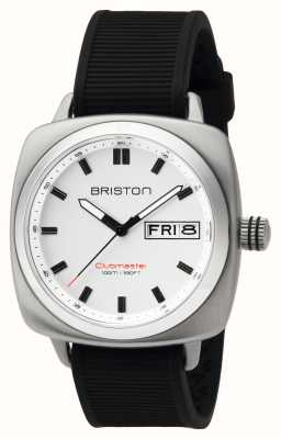 Briston Ex-display masculino clubmaster sport aço hms branco 16342.S.SP.2.RB-EX-DISPLAY