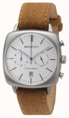 Briston Mens clubmaster vintage aço bege 16140.S.V.2.LFCA