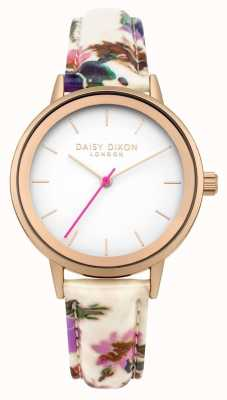 Daisy Dixon Correia floral branca de jasmim da mulher DD049WP
