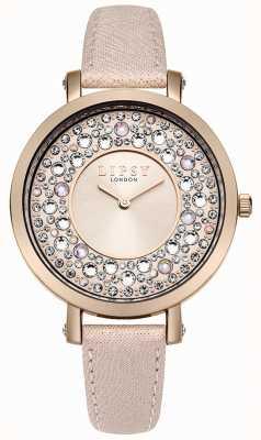 Lipsy Mulher rosa pu pulseira rosa LP492