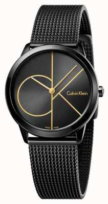 Calvin Klein Malha preta mínima da mulher K3M224X1