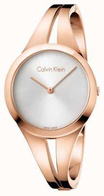 Calvin Klein Womans viciado em rosa pulseira de ouro K7W2M616