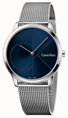 Calvin Klein Mens cinta de aço inoxidável mínima K3M2112N