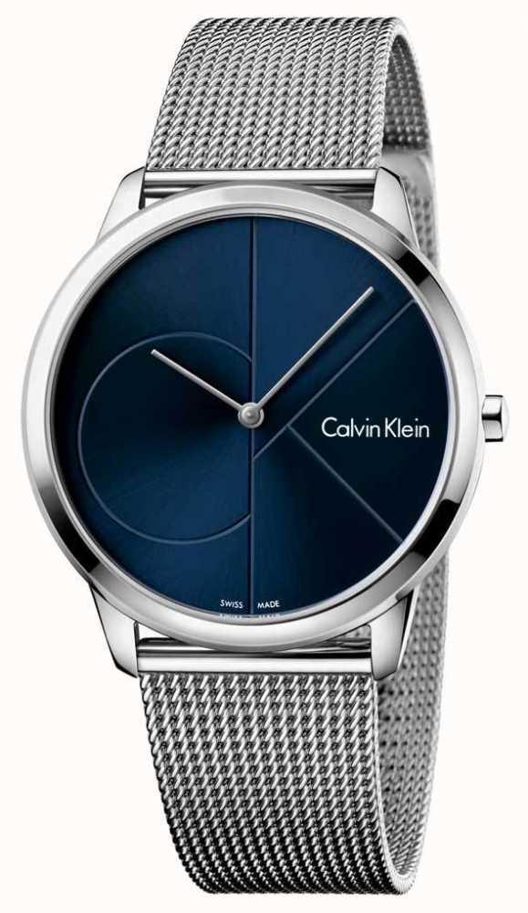 a2421b792ad Calvin Klein Mens Cinta De Aço Inoxidável Mínima K3M2112N - First ...