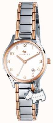 Radley Womans liverpool street pulseira prata rosa ouro RY4265