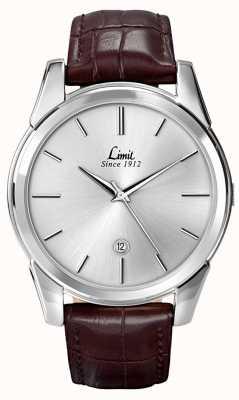 Limit Couro de relógio de limite de Mens 5451.01