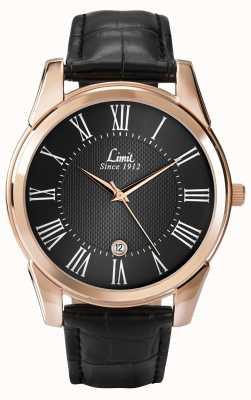 Limit Couro de relógio de limite de Mens 5454.01