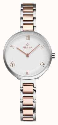 Obaku Relógio de pulso pêssego feminino V195LXCISV