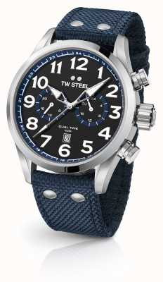 TW Steel Relógio de tecido azul VS37