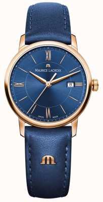 Maurice Lacroix Couro de mulher eliros azul EL1094-PVP01-411-1