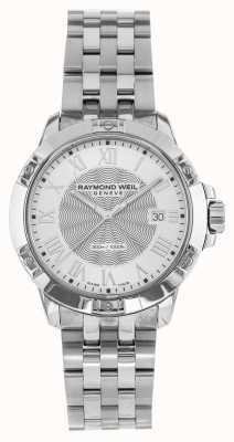 Raymond Weil Mens tango aço prata quartzo 8160-ST-00658