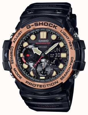 Casio Banda de resina Gulfmaster mens g-shock GN-1000RG-1AER