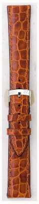 Morellato Apenas pulseira - couro de crocodilo liverpool castanho claro 16mm A01U0751376037CR16