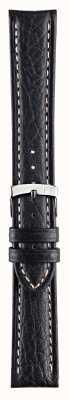Morellato Correia apenas - kuga couro genuíno pulseira de relógio preto 18mm A01U3689A38019CR18
