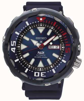 Seiko Mens prospex mergulhadores padi edição especial automático mostrador azul SRPA83K1