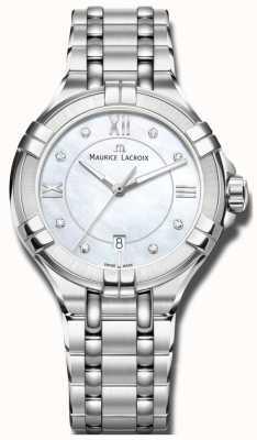 Maurice Lacroix Quartzo de aikon da mulher AI1004-SS002-170-1