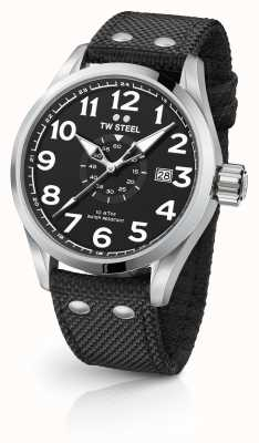 TW Steel Mens volante preto 45mm VS1