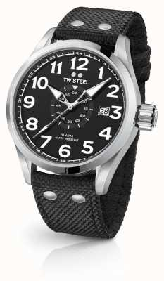 TW Steel Mens volante preto 48mm VS2