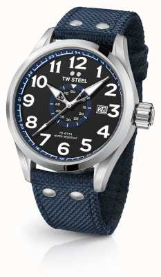 TW Steel Mens volante azul 48mm VS32