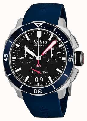 Alpina Mens seastrong diver 300 grande encontro AL-372LBN4V6