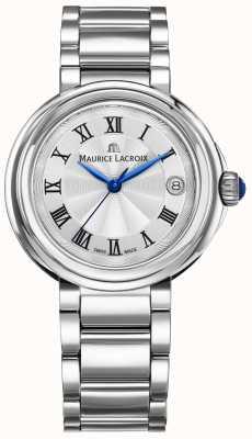 Maurice Lacroix Fiaba 36mm relógio de aço inoxidável para senhora FA1007-SS002-110-1