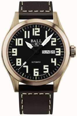 Ball Watch Company Caso de bronze do engenheiro iii dos homens NM2186C-L3J-BK