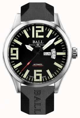 Ball Watch Company Aviador mestre de engenheiro masculino ii NM1080C-P14A-BK
