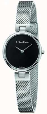 Calvin Klein Pulseira de malha de aço inoxidável autêntico da mulher K8G23121