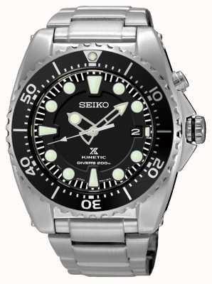 Seiko Mens prospex cinética mergulhadores pulseira de aço inoxidável SKA761P1