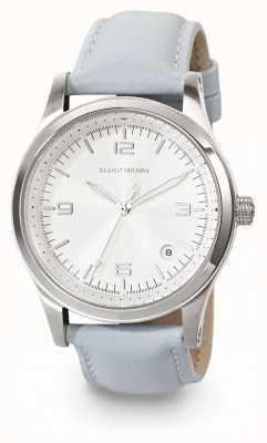 Elliot Brown Relógio de couro azul kimmeridge Womans 405-002-L55