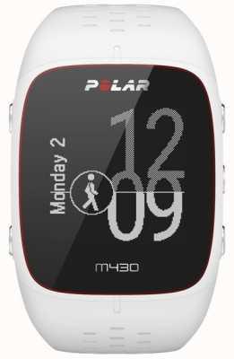 Polar Relógio desportivo de borracha branca M430 90064407