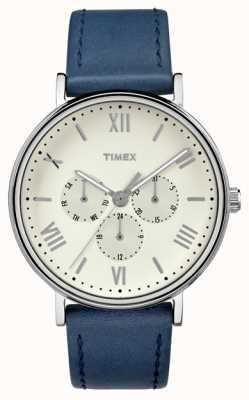 Timex Mens southview multifuncional cronógrafo azul TW2R29200