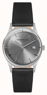 Kenneth Cole Caixa de aço inoxidável da mulher 35mm prata KC15109004