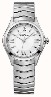 EBEL Relógio de aço inoxidável womens onda 1216374