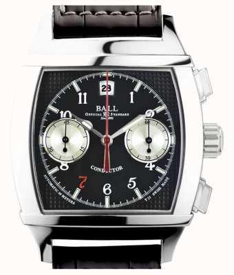 Ball Watch Company Vanderbilt black dial cronógrafo maestro de edição limitada CM2068D-LJ-BK