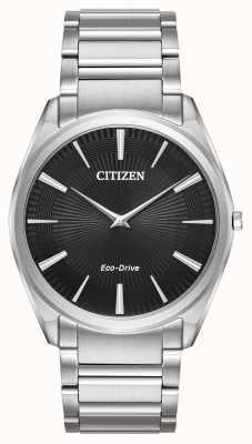 Citizen Mens eco-drive estilete de aço inoxidável ultra fino AR3070-55E