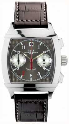 Ball Watch Company Vanderbilt cinza discagem cronógrafo maestro de edição limitada CM2068D-LJ-GY