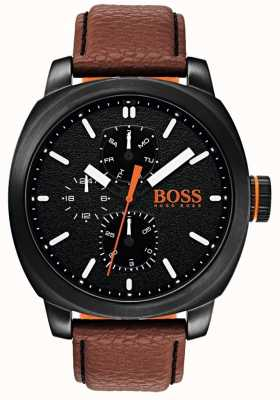 Hugo Boss Orange Mens capetown relógio mostrador preto 1550028