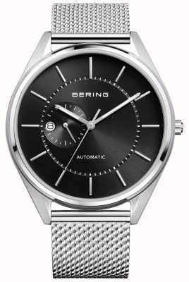 Bering Mens pulseira de aço prata milanese automática 16243-077