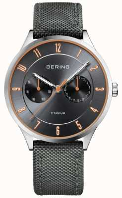 Bering Cinza de nylon de titânio ultra leve para homem 11539-879
