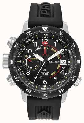 Citizen Alça de mergulhador Eco-drive Promaster Altichron BN4044-15E