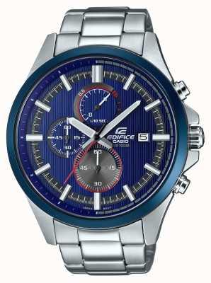 Casio Relógio de cronógrafo azul de corrida de edifício para homem EFV-520RR-2AVUEF