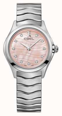 EBEL Relógio de marcação rosa onda Womens 1216268