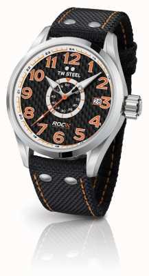 TW Steel Mens edição especial volante corrida de campeões laranja preto TW965
